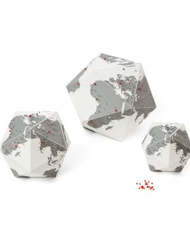 Palomar Here - The Personal Globe, Cities - Med 30cm - Italy