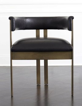 Kelly Wearstler Kelly Wearstler - Elliot Chair  standard leather