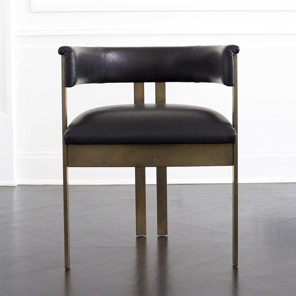 Kelly Wearstler Elliot Chair Standard Leather