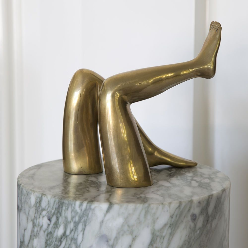 Kelly Wearstler Kelly Wearstler - Classic Legs  - Burnished Brass - 15x15x20cm