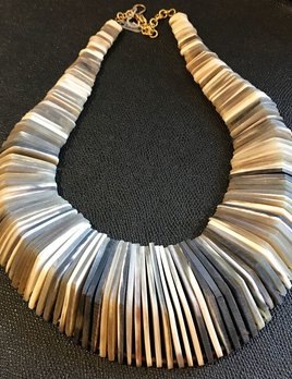 Soko Stacked Horn Necklace