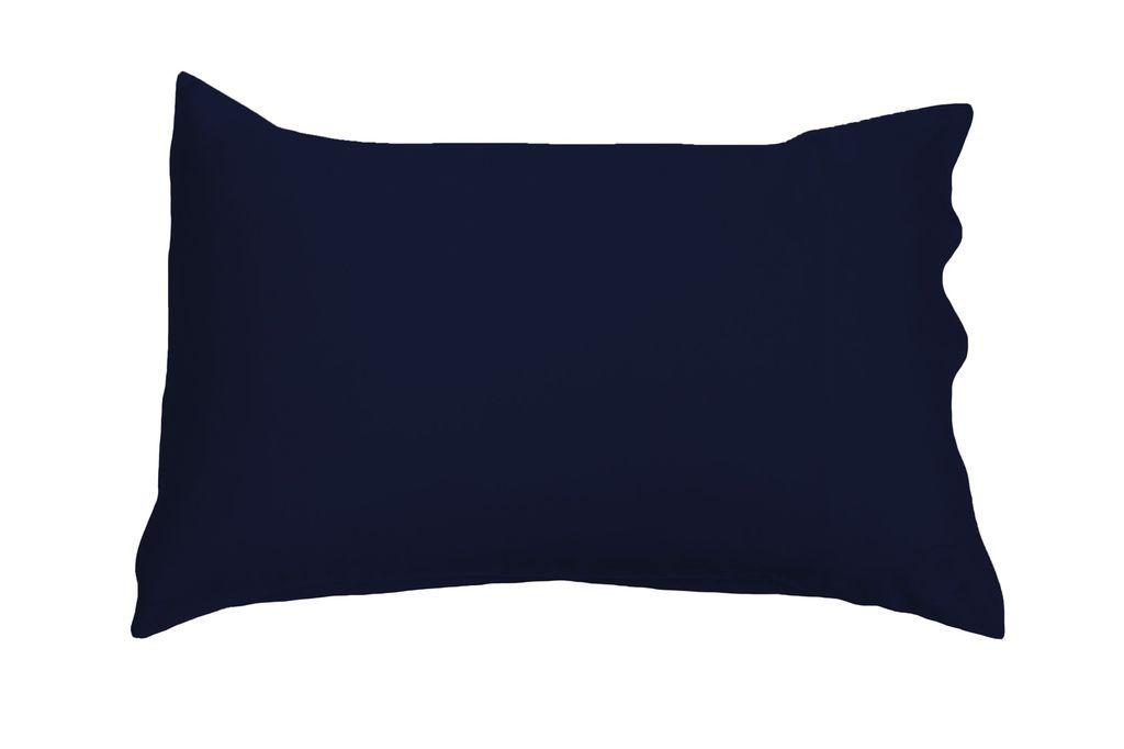 The Good Night Company - Silk Pillow Case - 51cm x 76cm - Navy