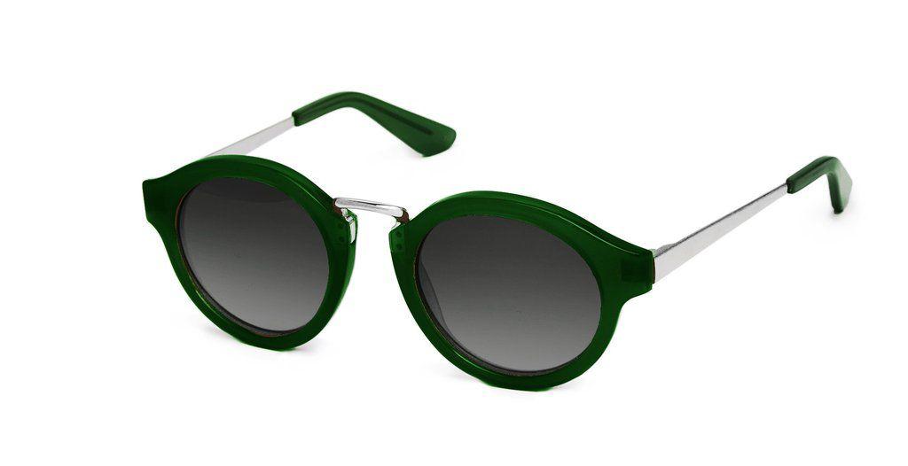 Nick Campbell Eyewear - Miki Sunglasses - Emerald