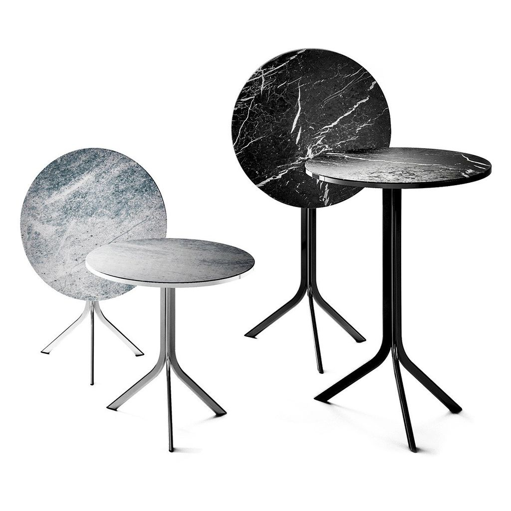 Retegui Marble - Bar Table - H1050mm Various Sizes/Marble Options Available