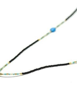 Danielle Shukur Danielle Shukur for Becker Minty - Tourmaline Long Pendent Necklace