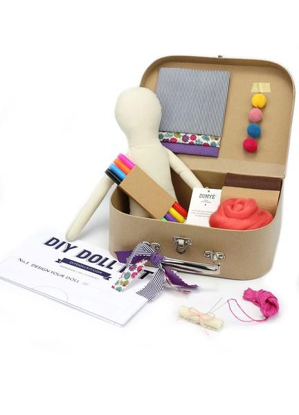 Dumye Dumye - DIY Doll Kit - Bold Blossom