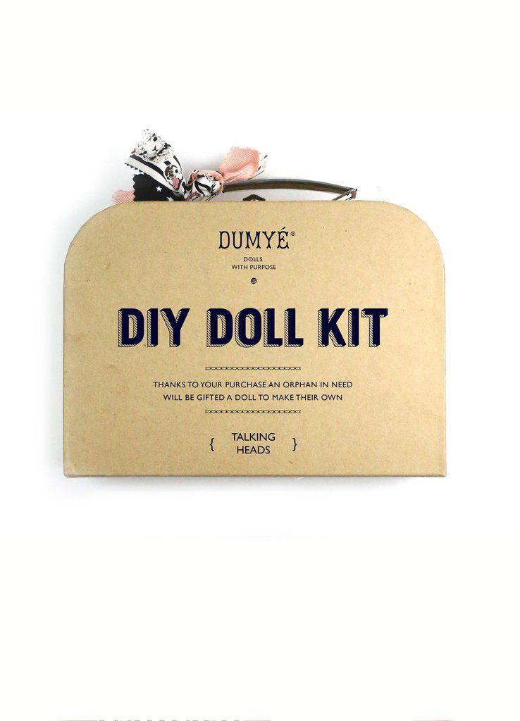 Dumye Dumye - DIY Doll Kit - Talking Heads