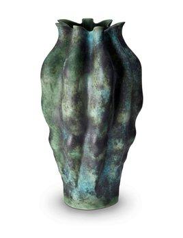 L'Objet L'Objet - Cenote Vase - Extra Large - Green - 28 D x 58 H cm