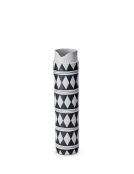 L'Objet L'Objet - Tribal Diamond Collar Vase - Large - 8 D x 37 H cm