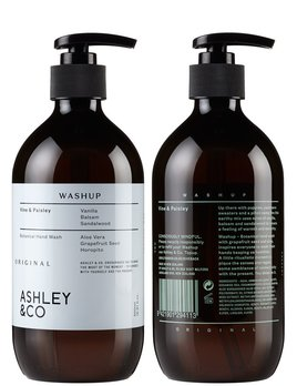 Ashley & Co Ashley & Co - Vine & Paisley Wash Up - Vanilla Balsam Sandalwood - 500ml- Made in New Zealand