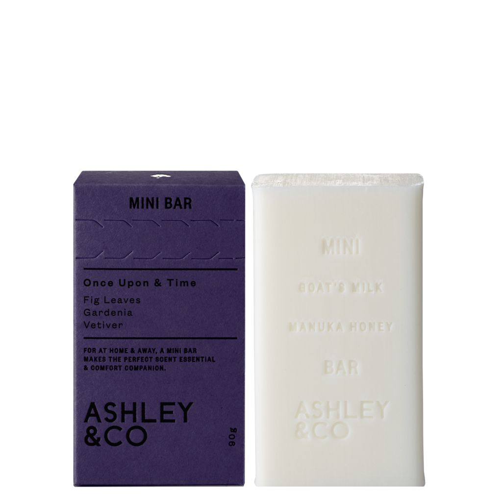 Ashley & Co Ashley & Co - Vine & Paisley Mini Bar - Vanilla Balsam Sandalwood - 90g - Made in New Zealand
