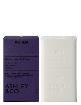 Ashley & Co Ashley & Co - Once Upon & Time Mini Bar - Fig Leaves, Gardenia, Vetiver - 90g - Made in New Zealand