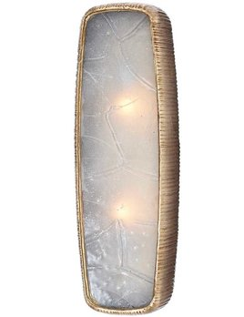 Kelly Wearstler Kelly Wearstler - Utopia Large Sconce in Gild with Fractured Glass