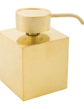 Decor Walther DW - Soap Dispenser - Matte Gold - 13 x 8.5 x 8.5cm - Germany