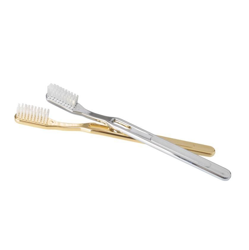 DW - Tooth Brush - 18ct Gold Plated - Made in Germany