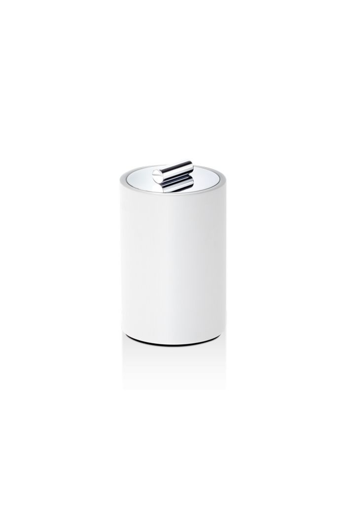 DW - Multi-Purpose Box Medium - Stone - White/Chrome - H13cm - Germany
