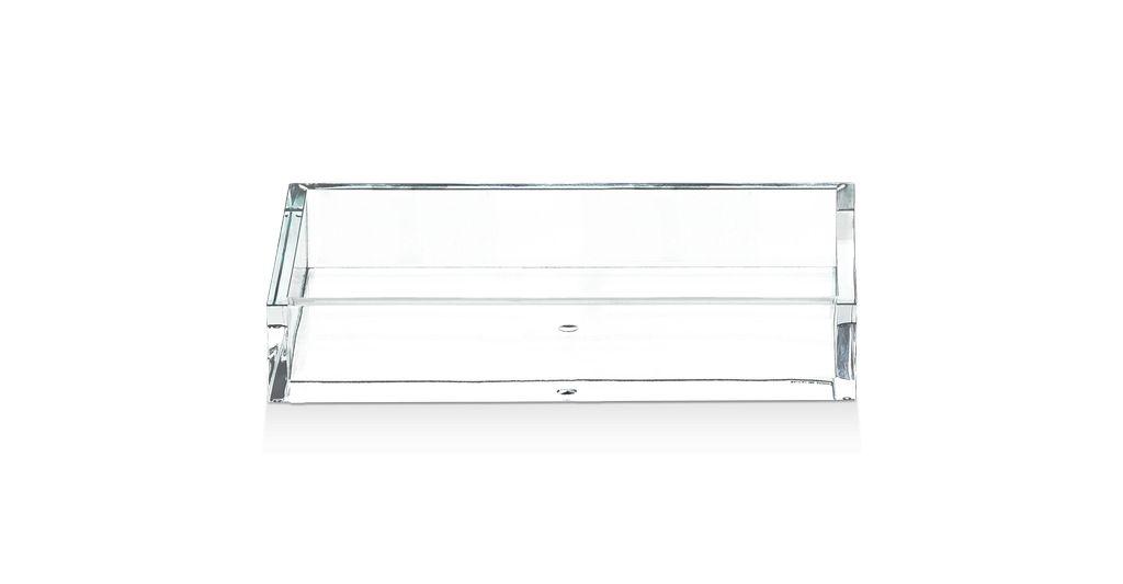 DW - Acrylic Tray - Rectangular <br /> Medium - 4 x 29 x 11.5cm - Germany