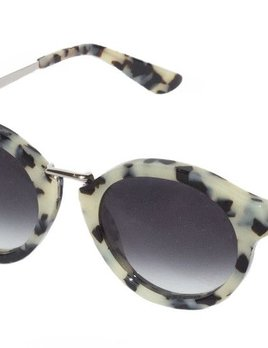 Nick Campbell Eyewear - Miki Sunglasses - Cookies & Cream - Acetate Frame