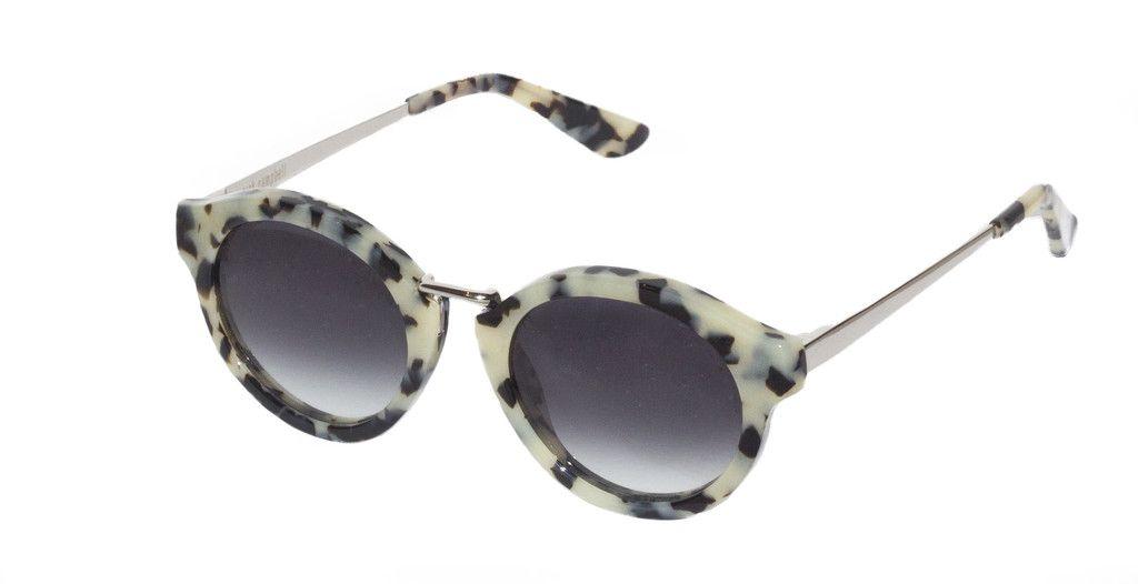 Nick Campbell Eyewear - Miki Sunglasses - Cookies & Cream - Acetate Frame