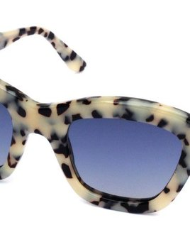 Nick Campbell Eyewear - Chloe Sunglasses - Cookies & Cream - Acetate Frame