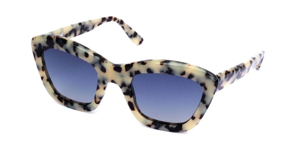 Nick Campbell Eyewear - Chloe Sunglasses - Cookies & Cream - Acetate Frame