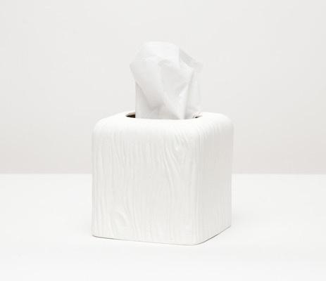 BURMA - Tissue Box - Porcelein Faux Bois