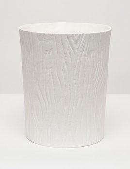 BURMA - Waste Basket - Porcelein Faux Bois