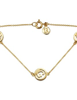 Luke Rose Me & My 3 Initial Bracelet with  by Luke Rose - Select your own Initials