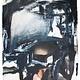 'Reclining Figure' (Francis Bacon) -  Acrylic on Paper - Antonia Mrljak - 124x96cm - 2017