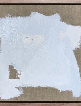 From the Body #18 - Acrylic on Linen - Antonia Mrljak - 38.5x38.5cm (framed) - 2017