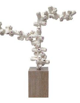 """""""Atoll"""" Woven Ceramic Sculpture"""