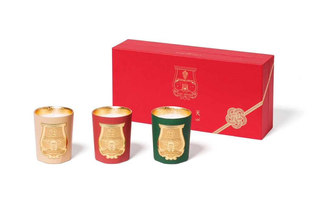 2017 Cire Trudon Candle - Odeurs D'Hiver - Box Set of Three Christmas Candles