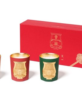 Cire Trudon Candle - Odeurs D'Hiver - Box Set of Three Christmas Candles