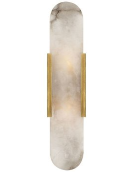 Kelly Wearstler Kelly Wearstler - Melange Elongated Sconce in Brass with Alabaster