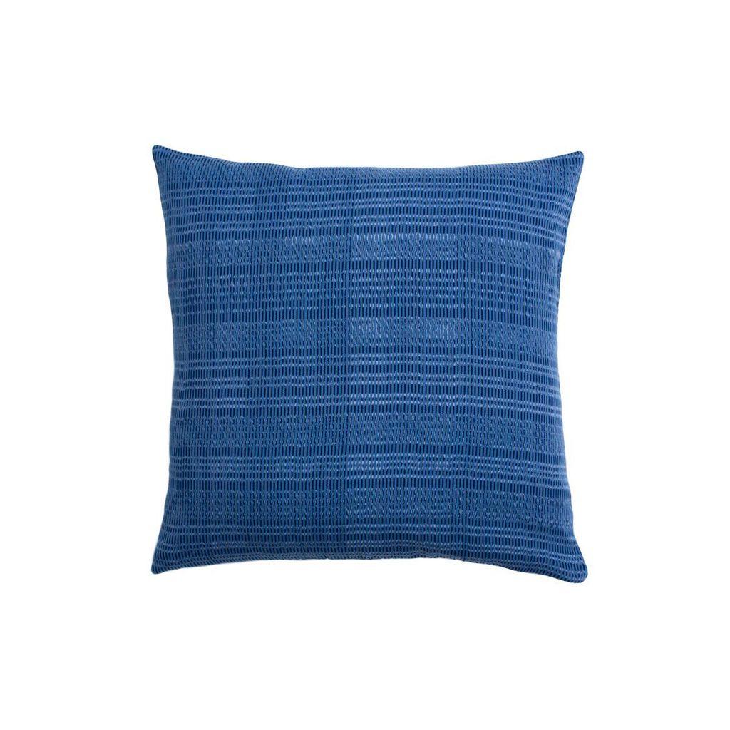 Aniza Aniza Cushion - Royal Blue and Cream - 50x50cm