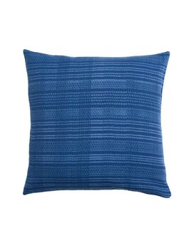 Aniza Aniza Cushion - Royal Blue and Cream - 40x40cm