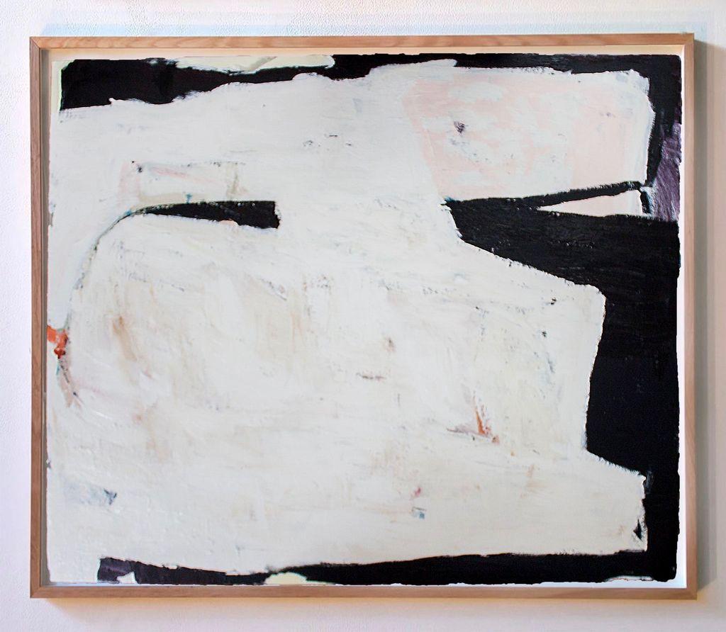 'Wild Man' (Ron Mueck) - Arcylic on Canvas - Antonia Mrljak - 106x127cm - 2017