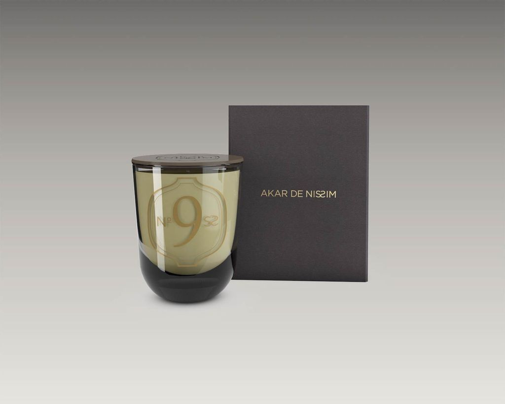 Akar de Nissim Akar De Nissim - No9 Fragranced wax candle - Rose of Damas