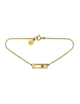 Luke Rose Champagne Diamond Slide Bracelet by Luke Rose