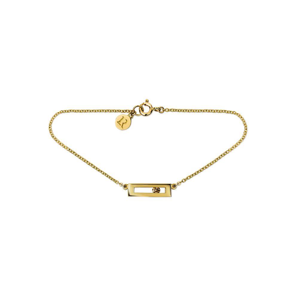 Luke Rose Champagne Diamond Slide Bracelet by Luke Rose