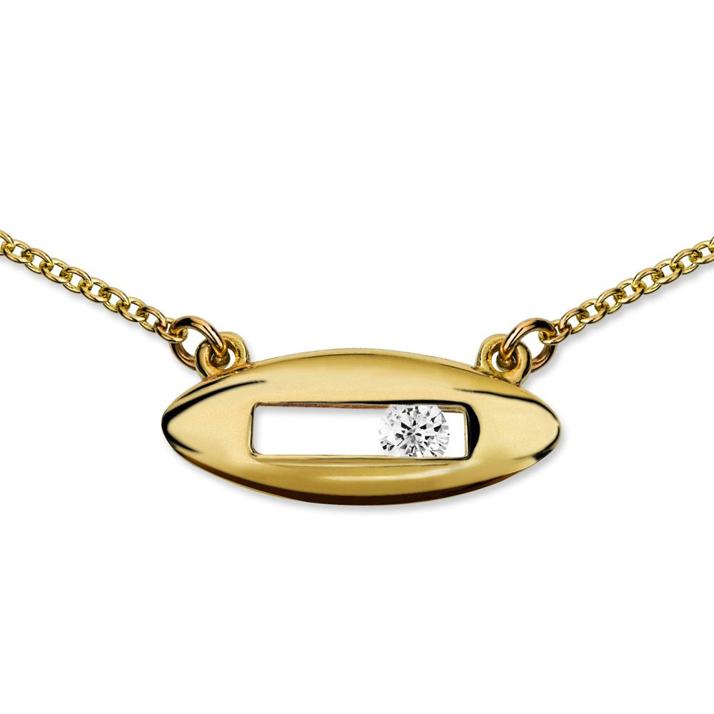Diamond Slide Bracelet by Luke Rose
