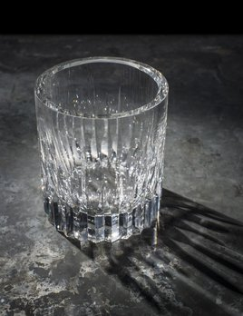 BECKER MINTY BECKER MINTY - Linear Cut Ice Bucket - Clear Crystal Glass  - 11.5x13cm