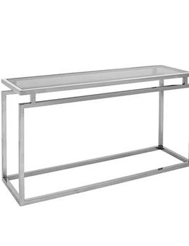 eichholtz overseas decoration b.v. Austin Console - Nickel Finish - W: 150cm x D: 45cm x H: 70cm