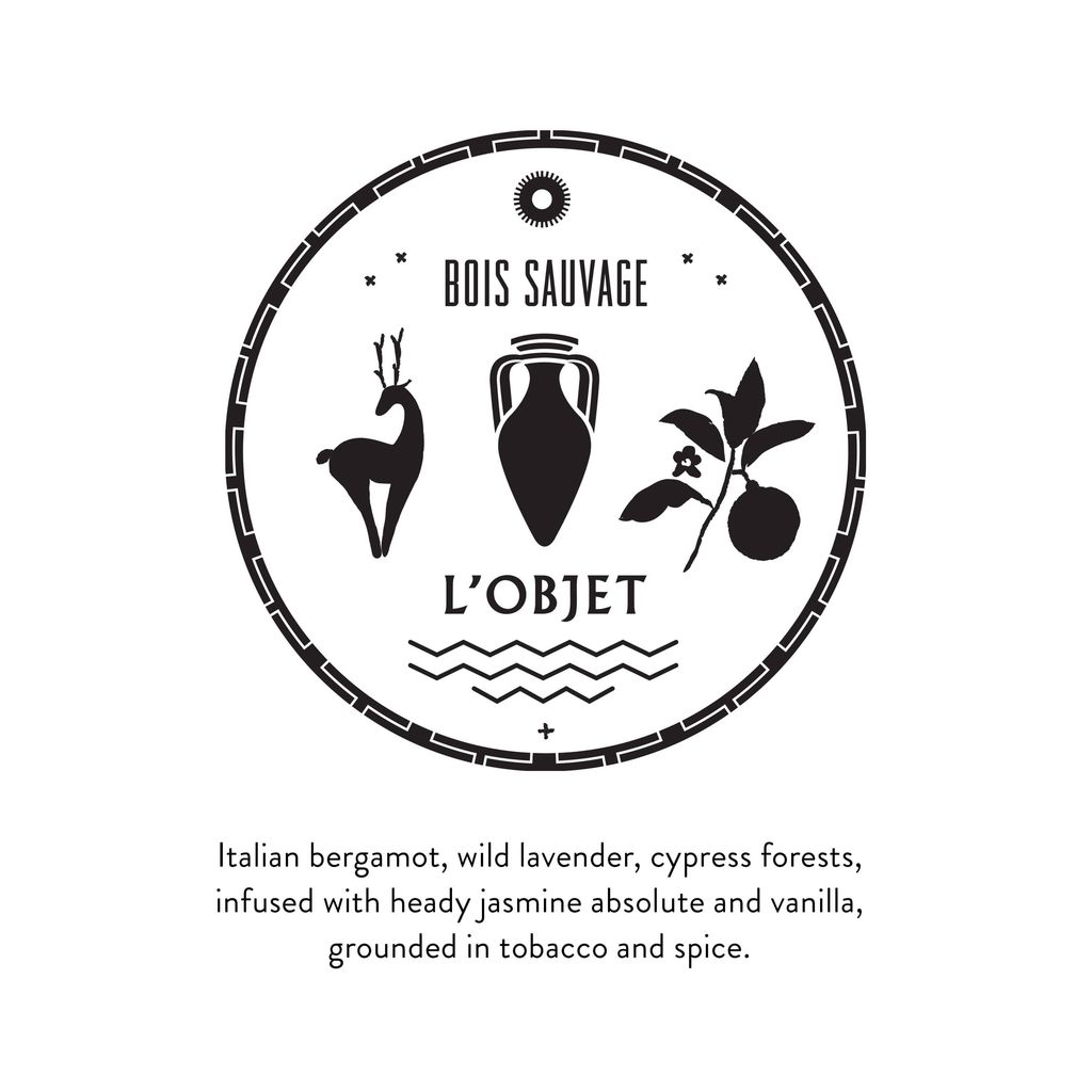 L'Objet L'Objet - Hand & Body Lotion - Bois Sauvage 500ml