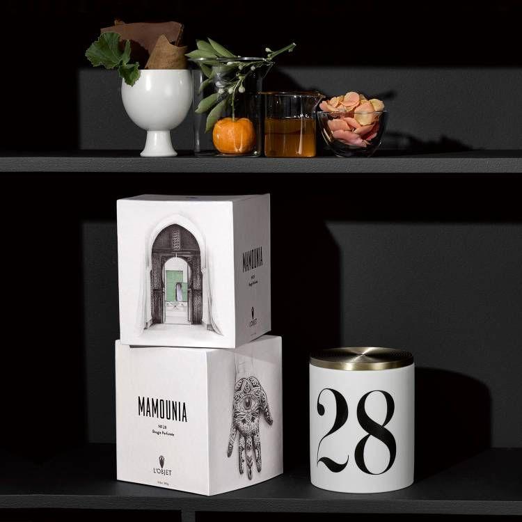 L'Objet L'Objet - Parfume de Voyage #28 Mamounia Candle