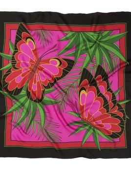 skarfe AMANDA TESTA for skarfe - Butterflies Scarf - Silk