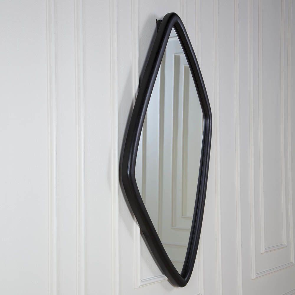 Kelly Wearstler Kelly Wearstler - Finley Mirror - Ebonized Walnut