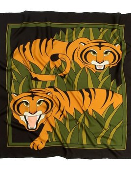 skarfe AMANDA TESTA for skarfe - Tiger Scarf - Silk