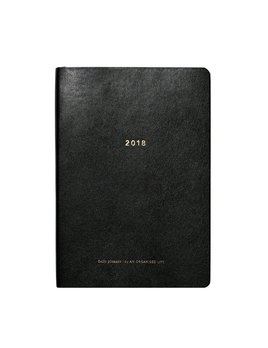 BECKER MINTY Daily Planner Diary 2018 - An Organised Life