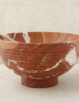 Kelly Wearstler Kelly Wearstler - Laurel Champagne Bowl - Russet